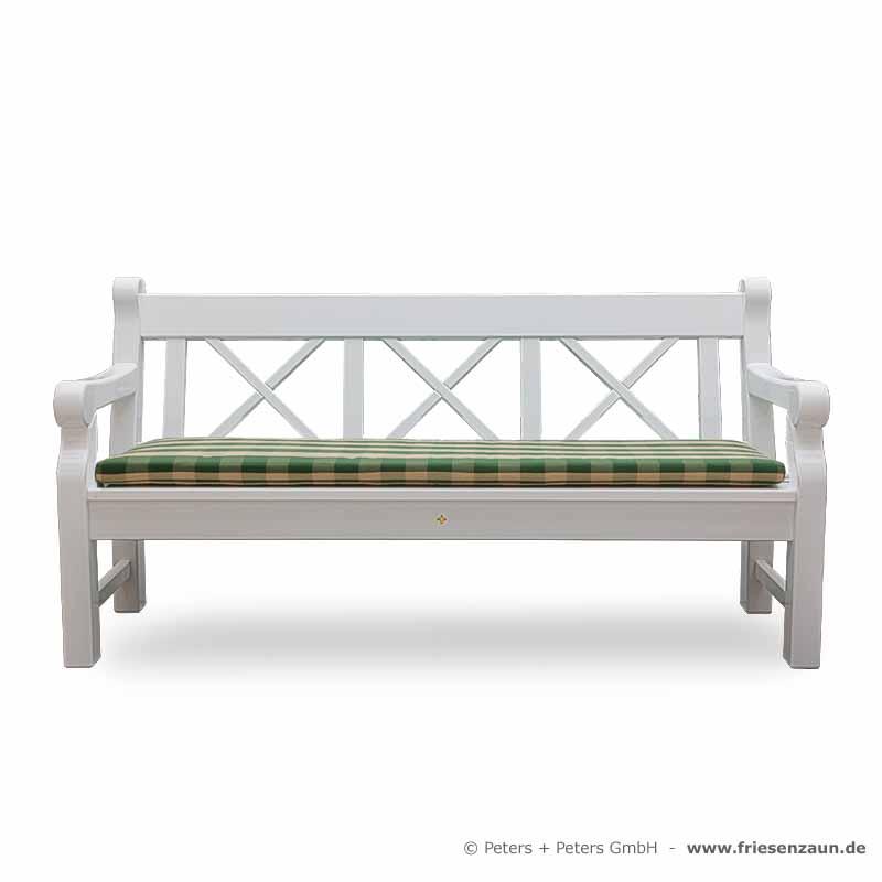 gartenbank wei holz 132238 eine. Black Bedroom Furniture Sets. Home Design Ideas