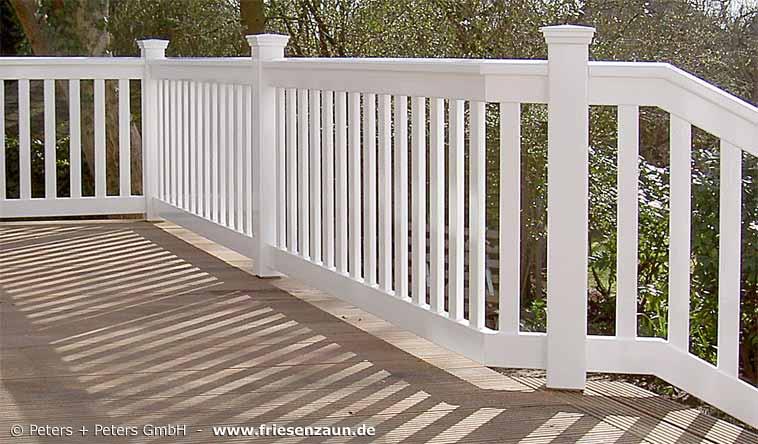 gel nder f r balkon garten und terrasse hartholz weiss ral mit 25 jahren garantie. Black Bedroom Furniture Sets. Home Design Ideas