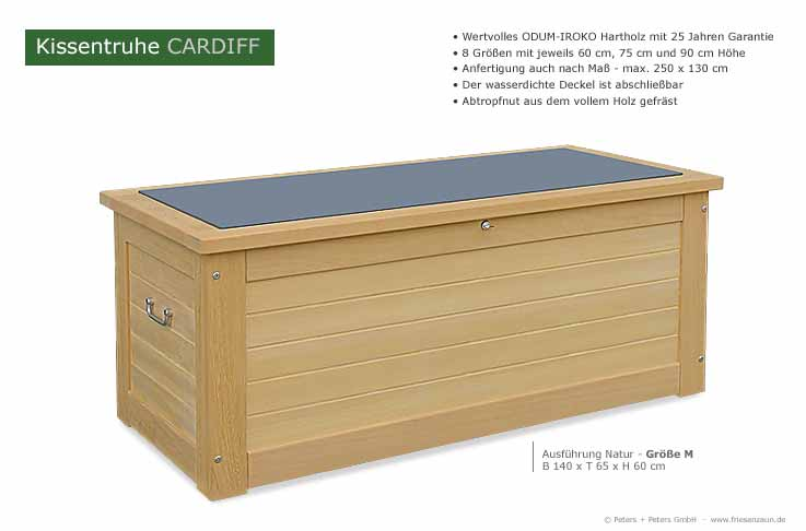 gartenbox wasserdicht perfect tepro aus metall l gartenbox gertebox auflagenbox with gartenbox. Black Bedroom Furniture Sets. Home Design Ideas