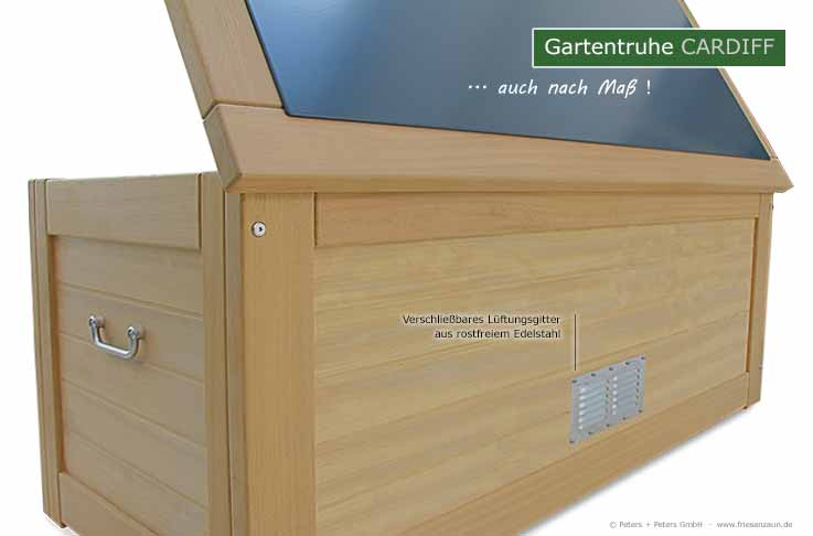 wasserdichte kissentruhe hartholz 25 jahre garantie anfertigung auch nach ma. Black Bedroom Furniture Sets. Home Design Ideas