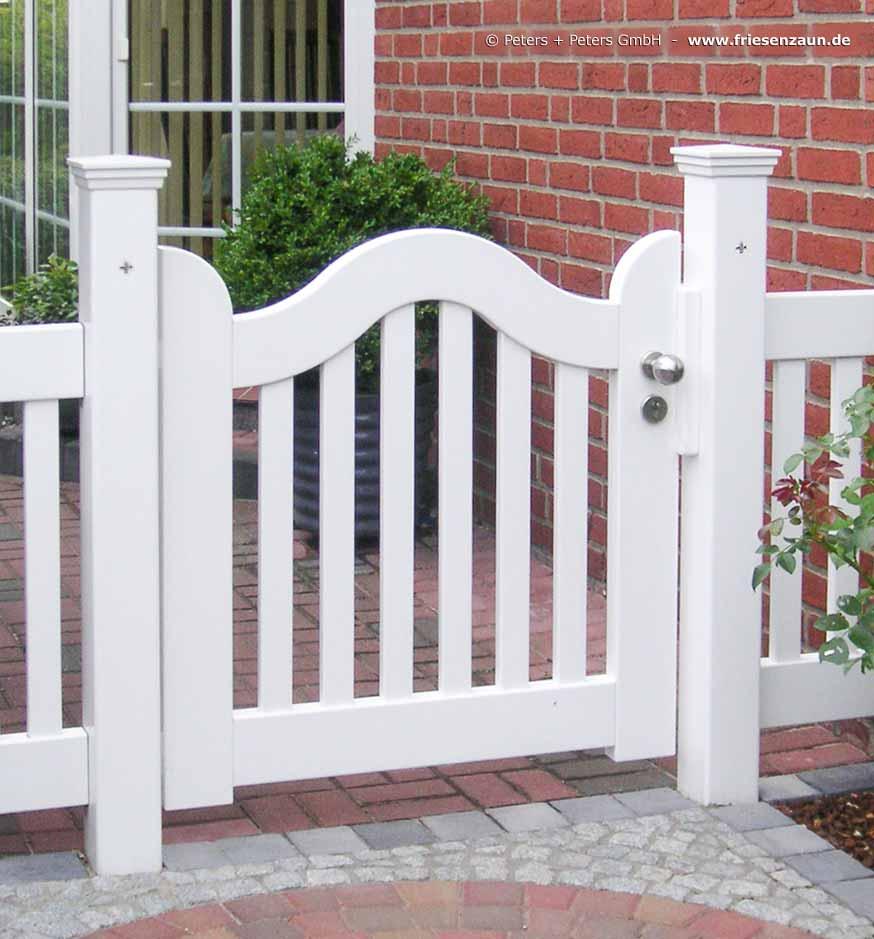 Hellgrau Weiß Und Holz Sind Erfrischend Natürlich: Schöne Holztore In Natur, Weiß Oder 200 Farben