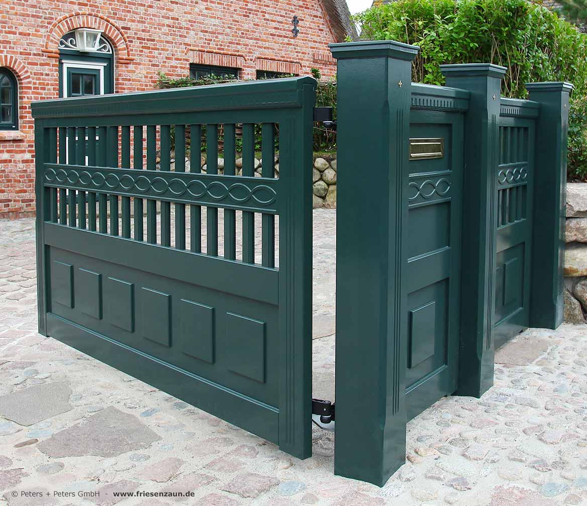 Sichtschutzzaun Holz Exklusiv ~ Exklusive Gartentore mit Anspruch aus wertvollem Hartholz von Peters