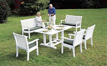 Gartenmöbel Set Holz Weiß ~ Friesenbank sylter gartenbank weiße friesenbänke mit jahren