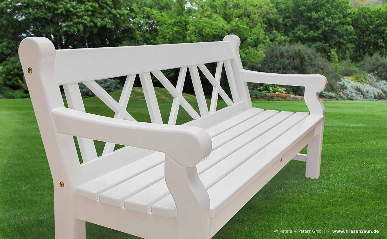 Gartenbank Holz. Latest Gartenbank Wei Holz Sitzer Bestseller Shop ...