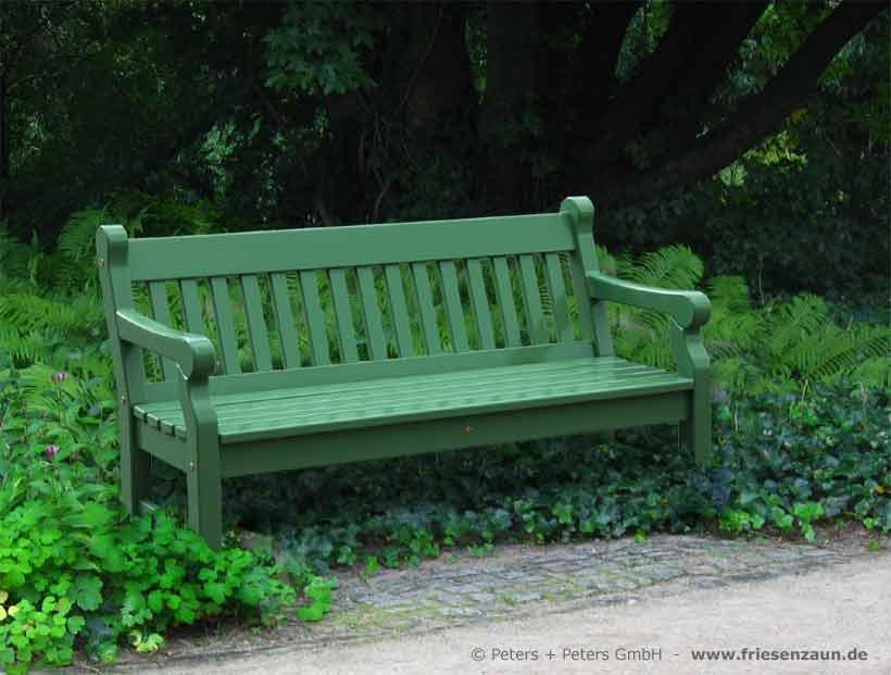 gartenbank holz farbig gartenbank hampton lieferbar ist diese beeindruckende gartenbank als - Gartenbank Holz