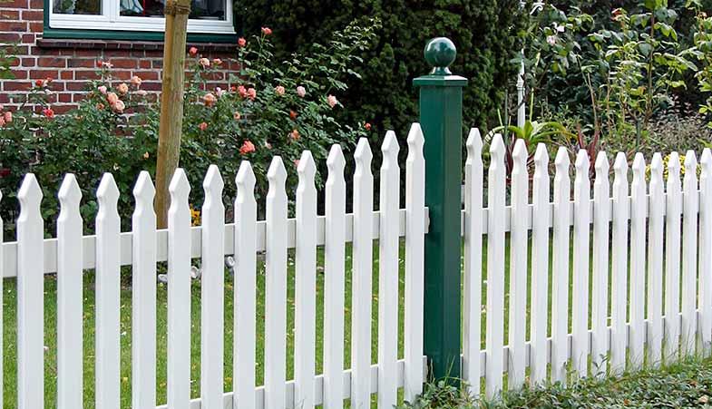 sylter friesenzaun - hartholz - 25 jahren garantie, Garten und Bauten