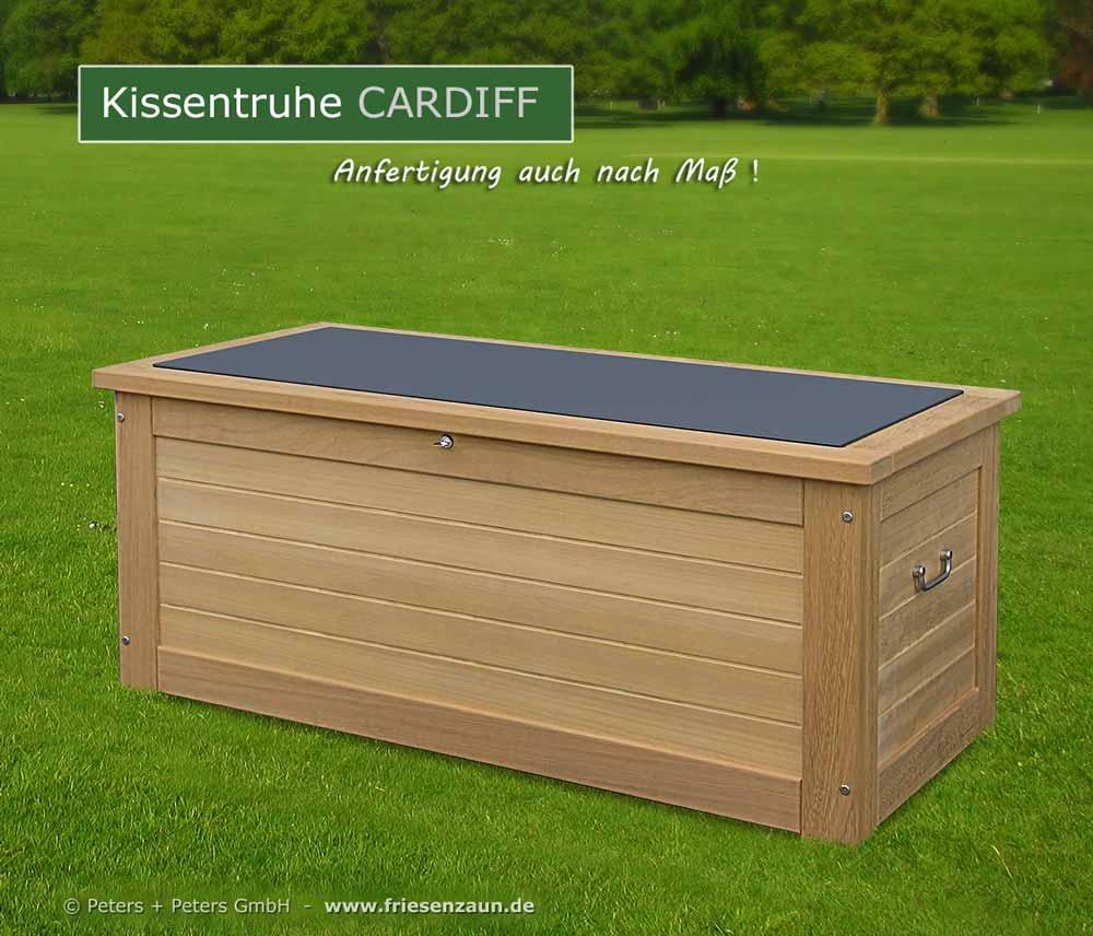 wasserdichte kissentruhe hartholz 25 jahre garantie anfertigung auch nach ma. Black Bedroom Furniture Sets. Home Design Ideas