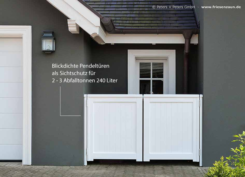 m lltonnenbox hartholz gr n endlackiert 25 jahre. Black Bedroom Furniture Sets. Home Design Ideas