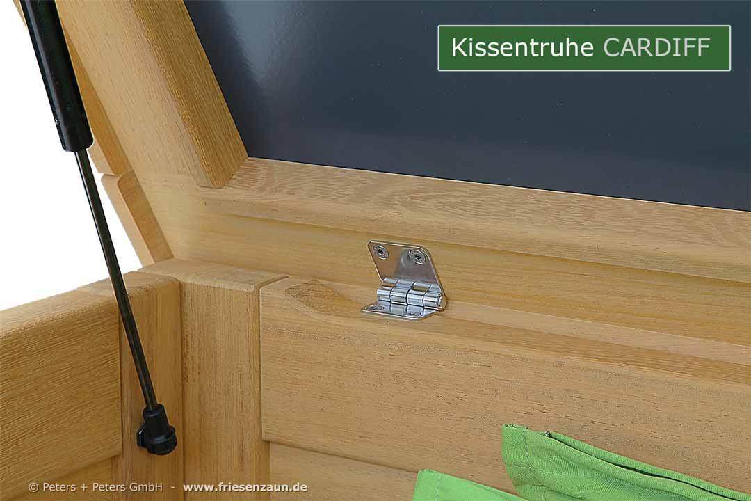 kissentruhen gartentruhe. Black Bedroom Furniture Sets. Home Design Ideas