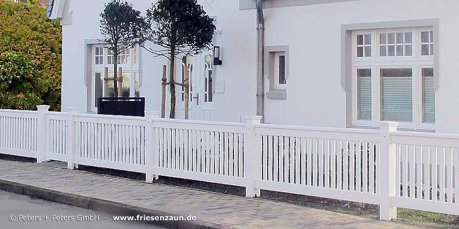original sylter gartenz une und wei e friesenz une hartholz mit 25 jahren garantie fertigung. Black Bedroom Furniture Sets. Home Design Ideas