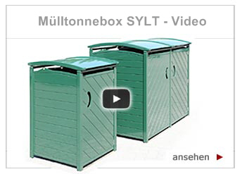 Video - Mülltonnenbox Sylt starten.