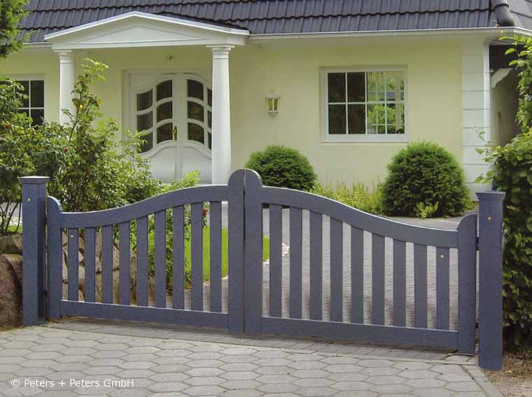 Wooden Driveway Gates Garden Gate And Yard Gate Painted