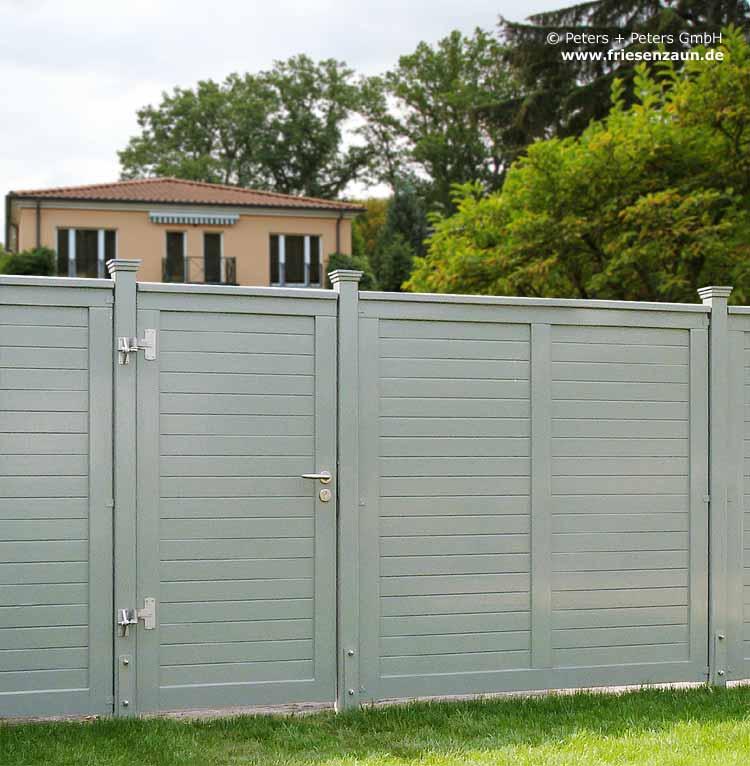 Anspruchsvolle Sichtschutztore Hoftore 25 Jahre Garantie